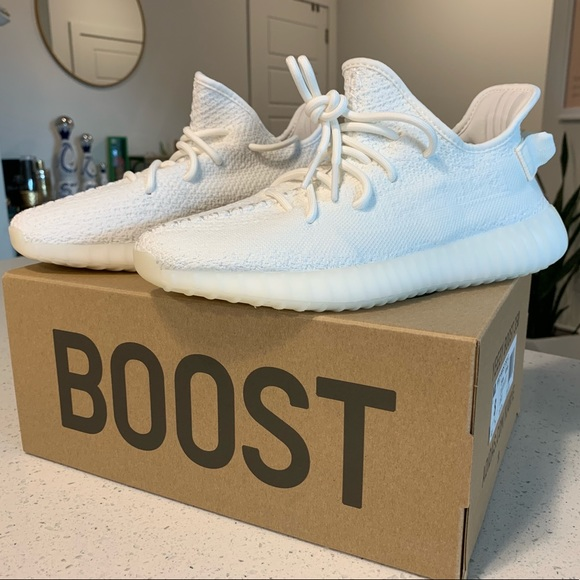 yeezy all white